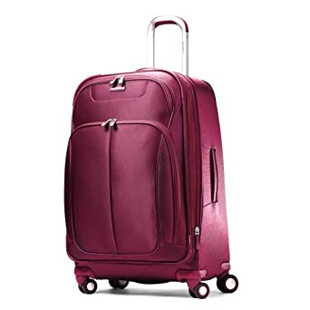 新秀丽31寸行李箱酒红 $130.49 Hyperspace Spinner 30.5 Expandable Suitcase