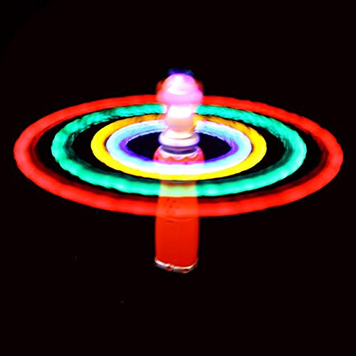 Dazzling Toys Hand-held Clown Spinner with Flashing LED Lights. (D185)