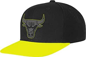 Amazon Chicago Bulls Adidas Neon Brim Snap Back Hat #0: 41DfYRCec7L SX300 QL70