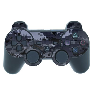 Digital Navy Camo Design PS3 Playstation 3 Controller Protector Skin Decal Sticker