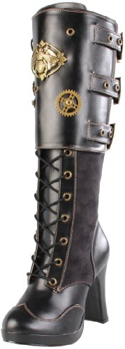 Pleaser Womens Crypto-302 Knee-High Boot