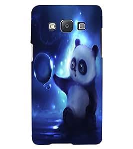 ColourCraft Cute Panda Design Back Case Cover for SAMSUNG GALAXY A7