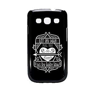 Vibhar printed case back cover for Samsung Galaxy Grand Max HateHim