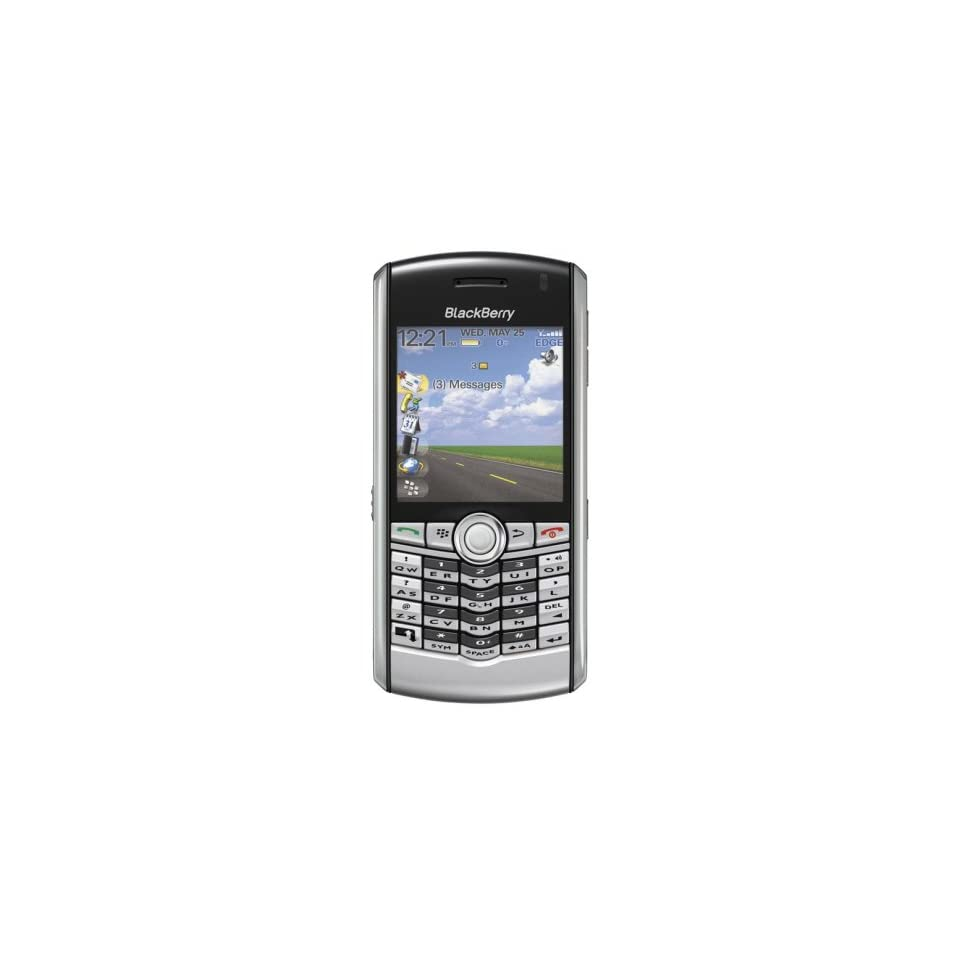 Blackberry Pearl 8100 Unlocked Phone with Camera, MicroSD Slot, and Digital Media Player  U.S. Version with Warranty (Silver)
