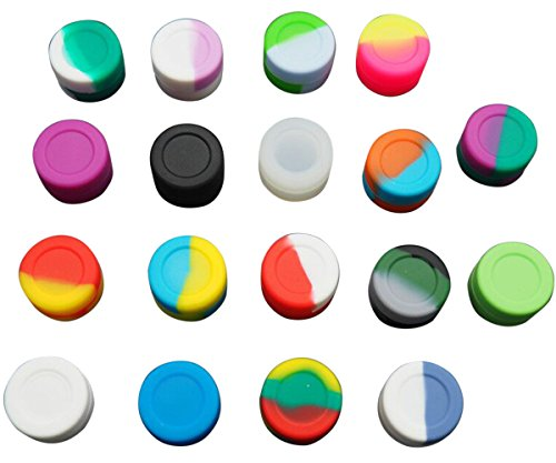 Gentcy 100pcs Silicone Container Silicone Jars Dab For Concentrate Oil Wax 3ML $ 0.35/pcs (Oil Slick Container compare prices)