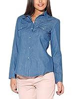 Katrus Camisa Mujer K171 (Azul)