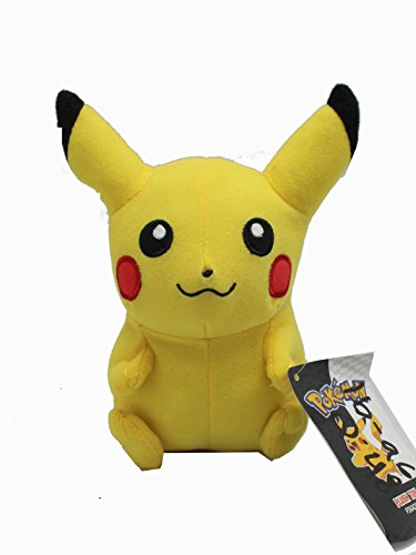 7 Inch Pokemon Pikachu Stuffed Plush Doll - 1
