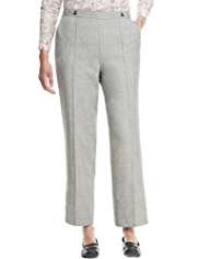 Classic Easy Care Textured Trousers