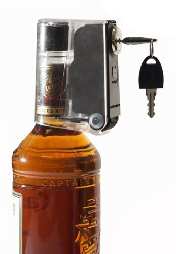 6-Pack Wine and Liquor Bottle Locks with Keys - Secure Your Liquor At Home - Keeps Booze Out of the Wrong Hands (Liquor Bottle Lock compare prices)