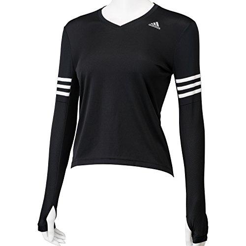 (アディダス)adidas W RSP 長袖Tシャツ KAV85 AA5629 ブラック J/M
