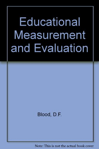 Educational Measurement and Evaluation PDF
