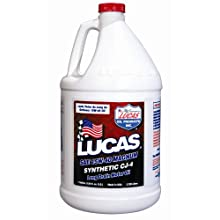 Lucas Oil 10299-PK4 Synthetic 15W-40 CJ-4 Truck Oil - 1 Gallon Jug, Pack of 4