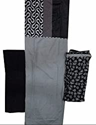 Raj Designer Women's Cotton Unstiched Dress Material (Pack of 3)