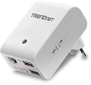TRENDnet Wireless N 150 Mbps Travel Router, TEW-714TRU