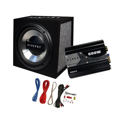 buy cheap synergy series ss10p 600 watt 10 car subwoofer box amplifier wiring by ma audio car. Black Bedroom Furniture Sets. Home Design Ideas