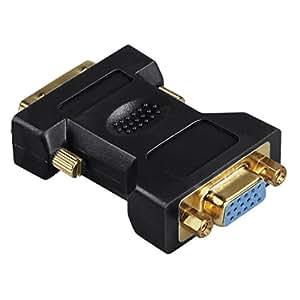 Amazon.com: HAMA ADATTATORE MONITOR DVI-I M-VGA 15PIN F: Computers