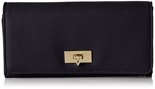 Valentino VPS1E0113 - Portafoglio Donna, colore Nero (Nero), 19x10x4 cm (B x H x T)