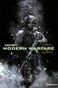 (22x34) Call of Duty: Modern Warfare 2 (Soldier) Video Game Poster Print