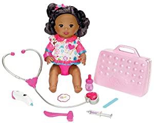 Little Mommy Doctor Mommy African-american Doll by Mattel