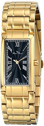 Lucien Piccard LP-12982-YG-11 - Reloj para mujeres, correa de acero inoxidable color dorado