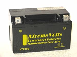 Amazon Com Ytz10s Xtreme Volts Agm Battery Automotive