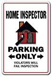 41Dg6Pn05VL. SL160 HOME INSPECTOR Street Sign inspection building house