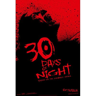 (26X39) 30 Days Of Night Movie (Double-Sided) Poster Print