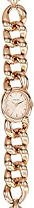 Fossil Damen-Armbanduhr XS Analog Quarz Leder ES3169