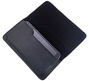 Side PU Leather Pouch Cover Case for Lenovo A6000