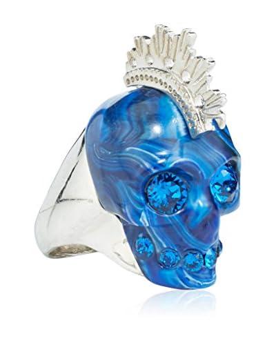 ALEXANDER McQUEEN Anillo Azul