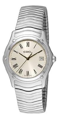 Ebel Men's 9255F41/6125 Classic Silver Roman Numeral Dial Watch
