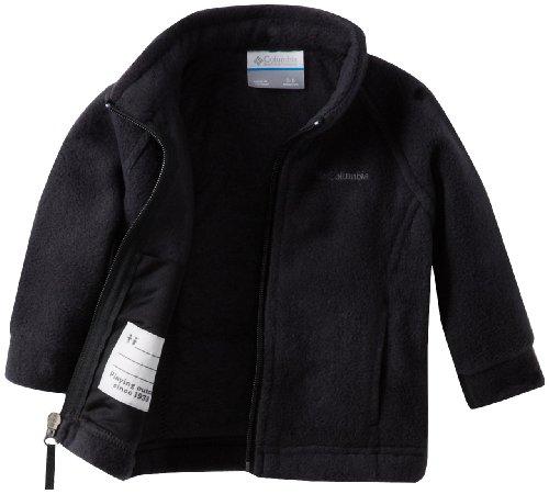 Columbia Baby Girls' Benton Springs Fleece Jacket, Black, 6-12 Months