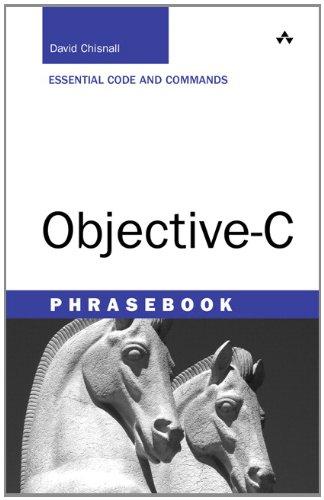 Objective-C Phrasebook (Developer's Library)