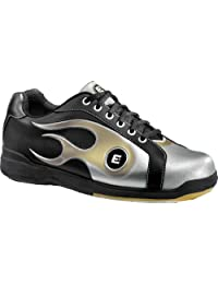 Etonic Black/Gold/Silver Flame Mens Bowling Shoes