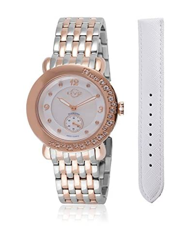 Gevril Reloj con movimiento cuarzo suizo Woman Marsala Gemstone 37 mm