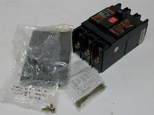Fuji Electric Type Eg 3 Pole Earth Leakage Circuit Breaker Eg33B1015Ma 10A