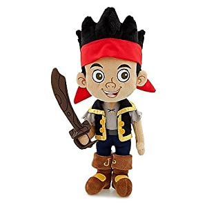 Disney Exclusive Jake and the Neverland Pirates 12 Inch Plush Jake