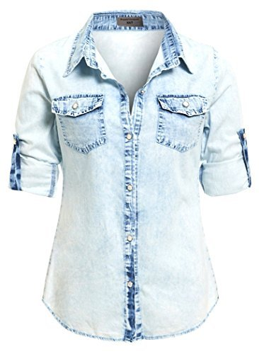 ss7-new-womens-denim-shirt-size-8-14-uk-8-light-stonewash