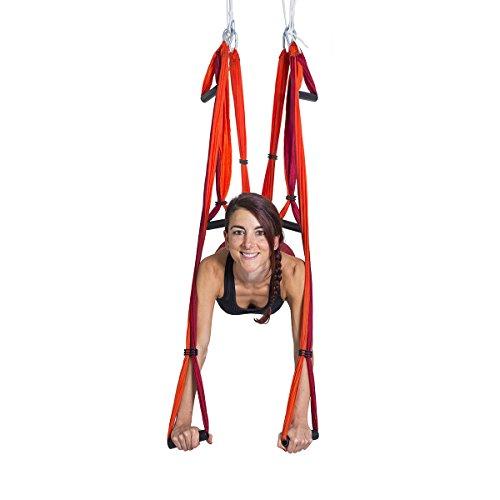YOGABODY-Naturals-Yoga-Trapeze-Yoga-SwingSlingInversion-Tool-Orange
