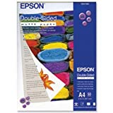 Brand New. Epson Matte Paper Heavyweight 178gsm Double-sided A4 Ref S041569 [50 Sheets]