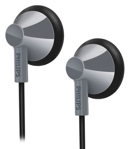 Philips She2100Gy/28 In-Ear Headphones - Gray