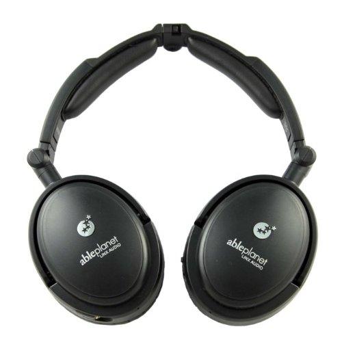 Able Planet Traveler'S Choice Foldable Active Noise Canceling Headphones (Black)