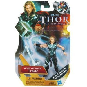 Thor: The Mighty Avenger Action Figure #17 Ax Action Thor 3.75 Inch