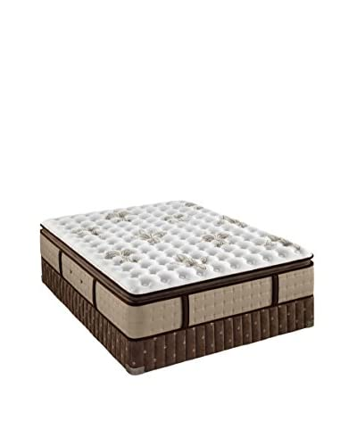 Stearns & Foster Estate Collection Luxury Plush Euro Pillow Top Mattress Set