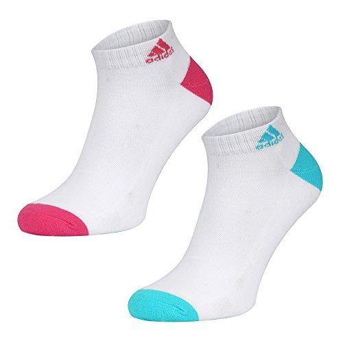 Adidas Womens Core-2 paia di calze sportive Ped