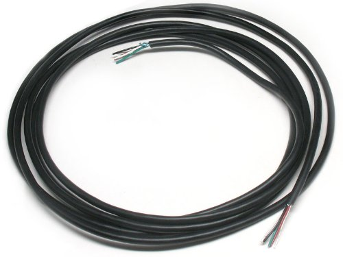 6 Feet Gavitt 4-Conductor Guitar Wire With Ground, Black Jacket