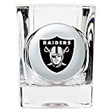 Oakland Raiders Square Shot Glass - 2 oz.