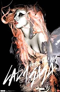 Lady Gaga Born This Way Music Poster Print - 22x34 Music Poster Print, 22x34