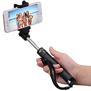 selfie stick midastick self portrait foldable extendable bluetooth selfie stick. Black Bedroom Furniture Sets. Home Design Ideas