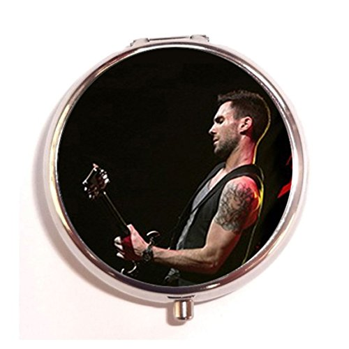 Adam-Levine-Fashion-Custom-Round-Pill-Box-Case-Medicine-Vitamin-Organizer-as-a-Nice-Gift